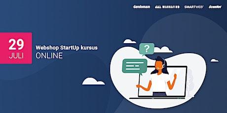 Webshop StartUp kursus (online) tickets