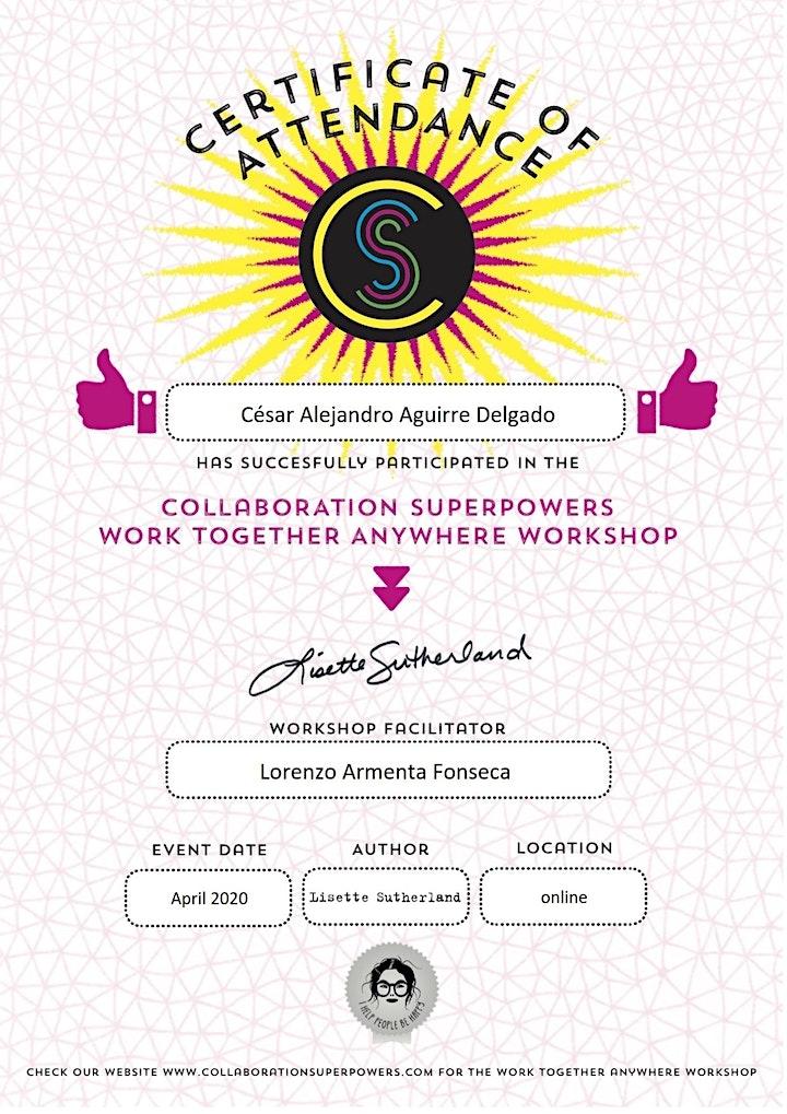 Imagen de Work Together Anywhere Workshop