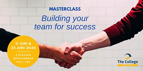 Online Masterclass 'Building Your Team For Success' tickets