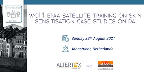 WC11 EPAA satellite training on skin sensitisation-Case studies on DA tickets