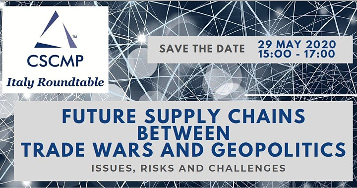 Immagine FUTURE SUPPLY CHAINS BETWEEN TRADE WARS AND GEOPOLITICS