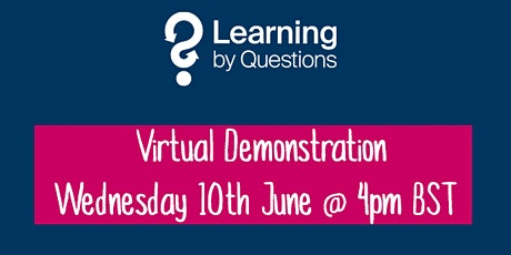 Learning by Questions invites Jersey schools to a virtual demonstration tickets