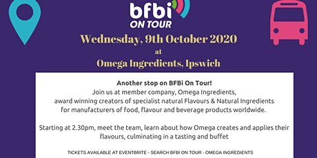 Tour of Omega Ingredients, Ipswich tickets