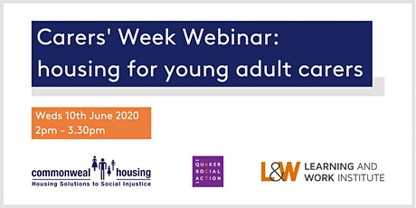 Carers Week webinar: housing for young adult carers tickets