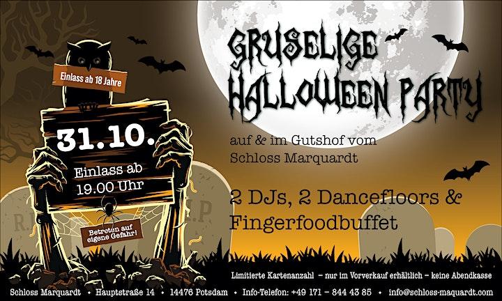 Gruselieg Halloween Party Schloss Marquardt 31.10.2020: Bild
