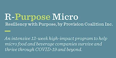 R-Purpose Micro tickets