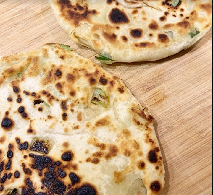 Online Chinese Cookery Workshop - Easy Spring Onion Pancake image