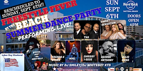 Freestyle Fever by the Beach - Summer Dance Party tickets