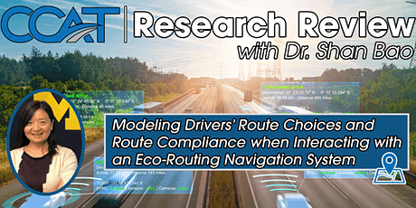CCAT Research Review - Driver Route Choice and Compliance in Eco-Routing tickets