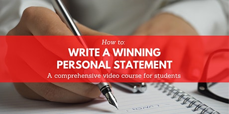 Online Class: How To Write A Winning Personal Statement for College tickets