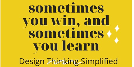 Design Thinking Simplified Online tickets