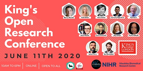 King's Open Research Conference tickets