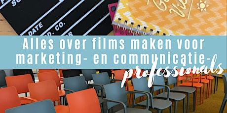 Masterclass 'Alles over films maken voor marketing- en communicatie profs.' tickets