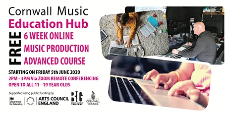Music Production Course - Advanced- Start Friday 5th June tickets