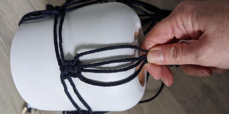 Make your own macrame  hanger tickets
