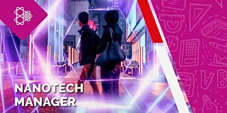 Nanotech Manager - OPEN DAY biglietti
