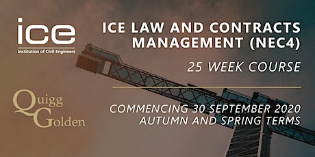 ICE Law and Contract Management Course Belfast tickets