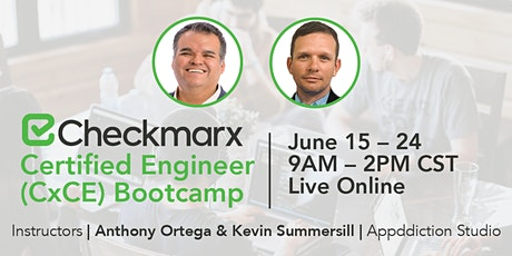 Checkmarx Certified Engineer (CxCE) Bootcamp tickets