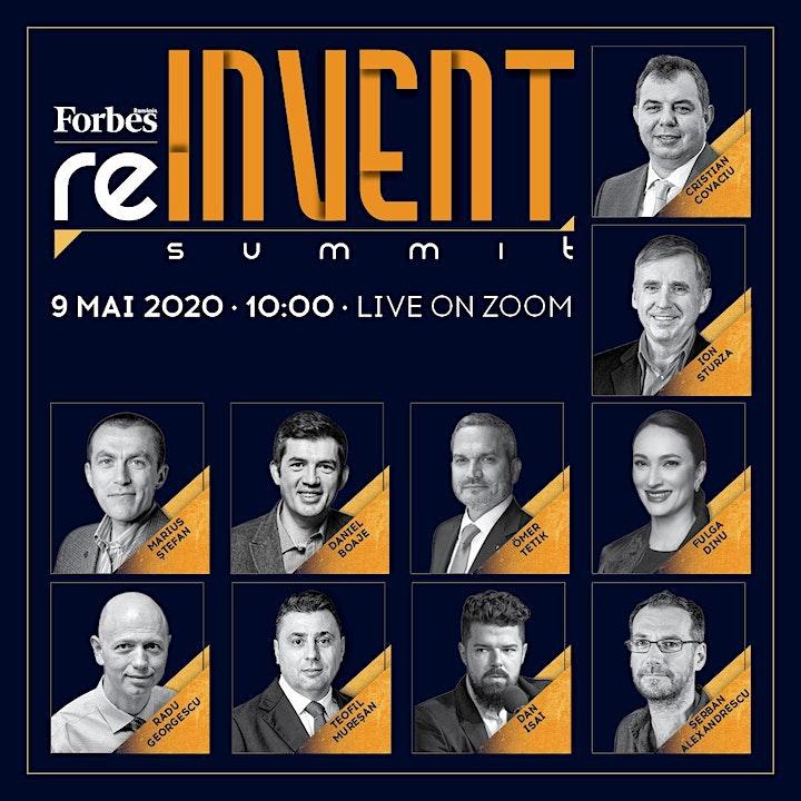 Forbes reINVENT Online Summit 2020 image