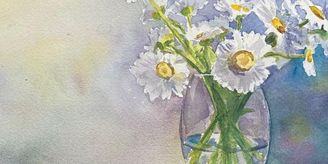 Watercolour Florals Virtual Class tickets