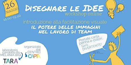 Disegnare le IDEE - workshop online biglietti
