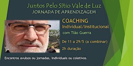 COACHING INDIVIDUAL/INSTITUCIONAL com Tião Guerra ingressos