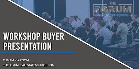 Workshop Buyer Presentation tickets