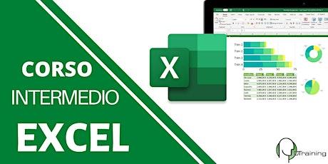 Impara Microsoft Excel guidato da un esperto: livello intermedio biglietti