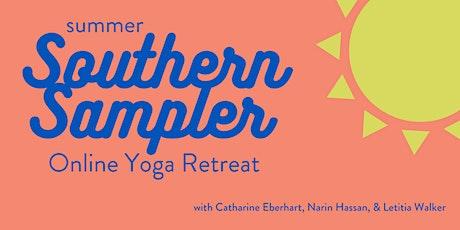 Summer Southern Sampler Online Retreat tickets