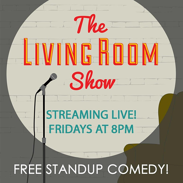 The Living Room Comedy Show Straight to your Living Room! image