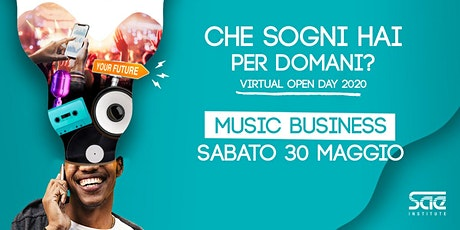 Virtual Open Day • Music Business biglietti