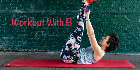Workout With B: 35 min HIIT session online tickets