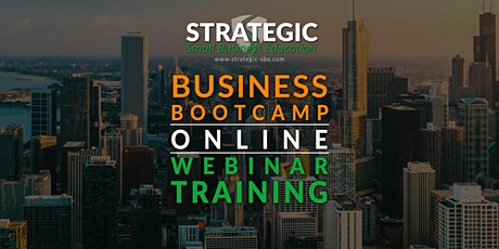 Strategic Small Business Education: The Road-Map To Success Virtual Event tickets