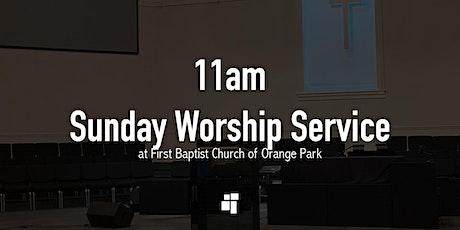 First Baptist Church of Orange Park 11am Sunday Worship Service tickets