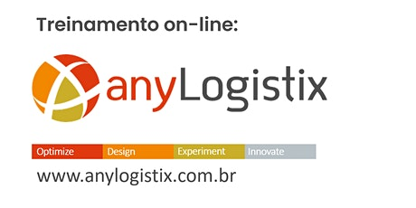 Treinamento on-line: anyLogistix - 14 a 17 de julho de 2020 [das 13:00 às 18:00 h] ingressos
