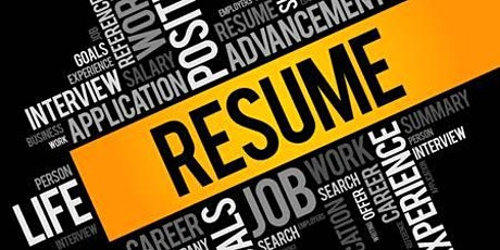 Professional Resume & Cover Letter tickets