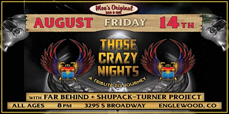 Those Crazy Nights (Journey tribute) w/ Special Guests tickets