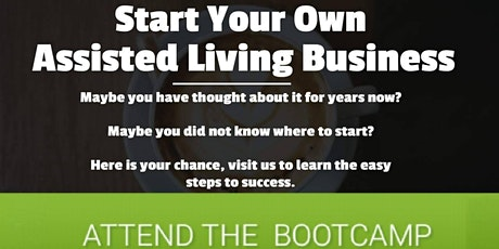 ONLINE Assisted Living New Provider Business Bootcamp  tickets