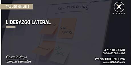 Liderazgo Lateral | Taller online entradas