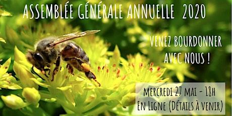 Assemblée Générale Annuelle - 2020 - Miel Montréal billets