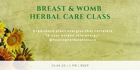 Breast & Womb Empowerment Class tickets