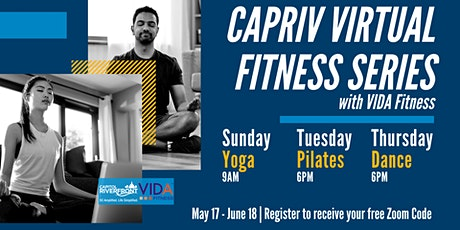 CapRiv Virtual Fitness Series tickets