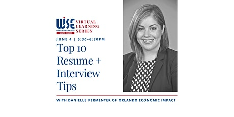 Top 10 Resume + Interview Tips tickets
