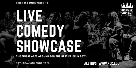 Kings of Comedy's 'Live Internet Showcase' tickets
