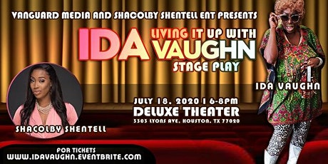 Living It Up With IDA Vaughn Stage Play tickets
