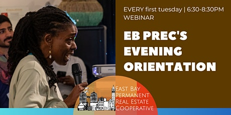 EB PREC Evening Orientation tickets