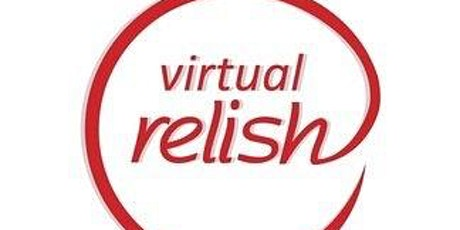 New York Virtual Speed Dating | Do you Relish? | Singles Event tickets