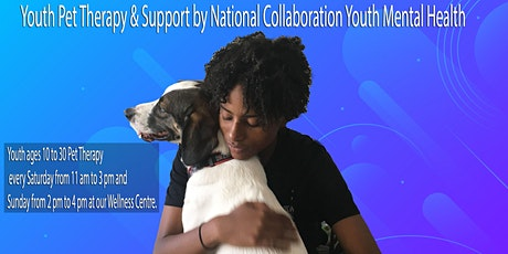 Youth Pet Therapy & Support by National Collaboration Youth Mental Health tickets