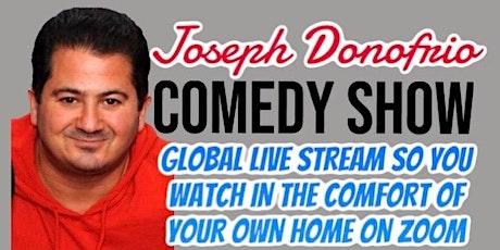 Joseph Donofrio Comedy Show online tickets