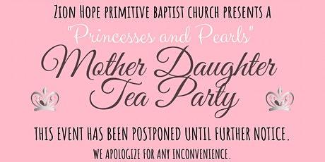 """Princesses and Pearls"" Mother Daughter Tea Party tickets"